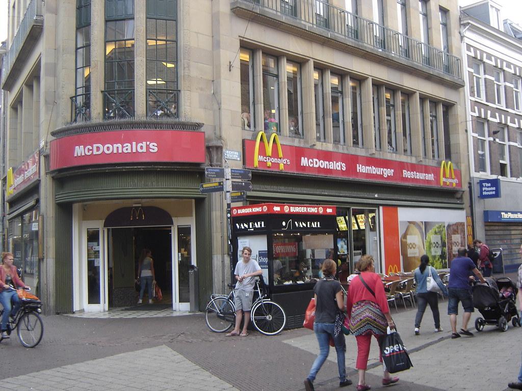 Arnhem Mcdonald S Rijnstraat This Mcdonald S In Arnhem