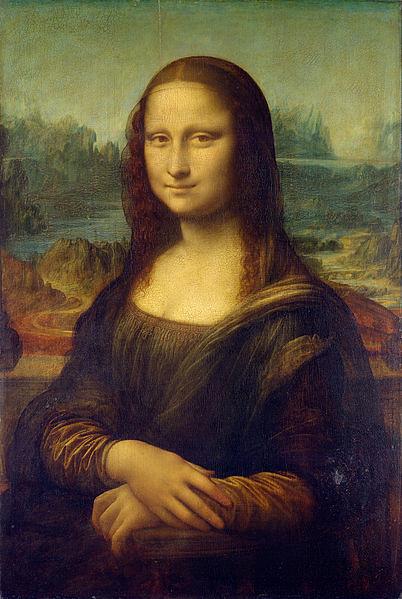 Mona Lisa (A Gioconda), de Leonardo da Vinci (1503-06)