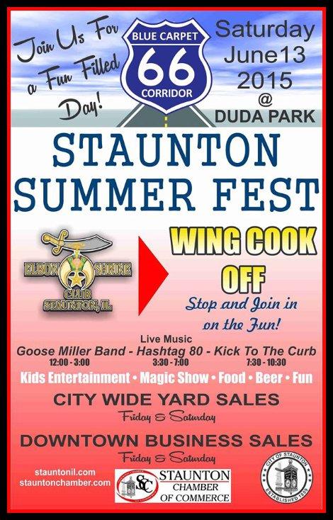 Staunton Summer Fest 6-13-15