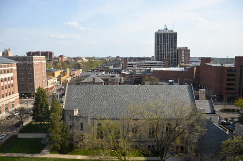 View from the Campus Inn