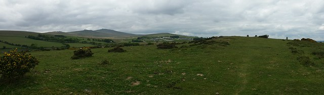 East Hill panorama to Yes Tor #sh