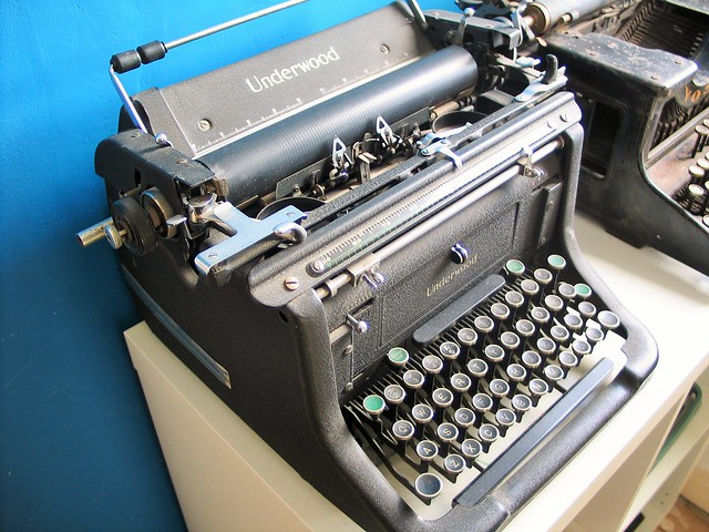 My typewriter collection!