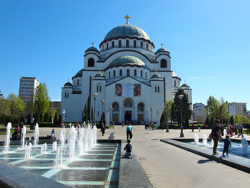 Saint Sava church in Belgrade, Serbia