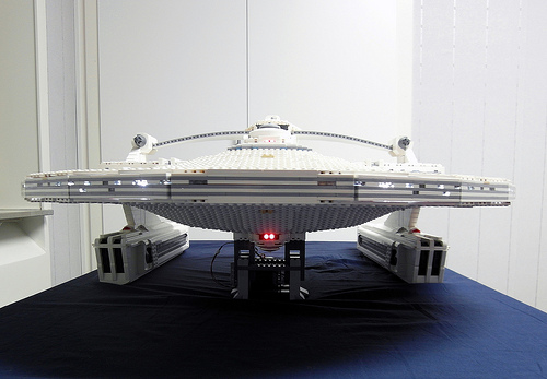 Star Trek USS Reliant in Lego by Myko