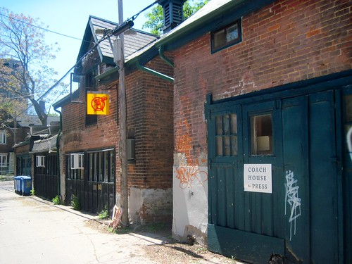 Toronto Open Doors: Coach House Press