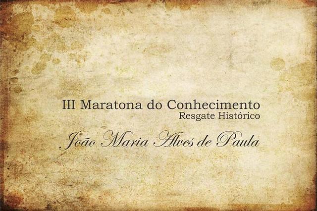 Maratona do Conhecimento - João de Paula