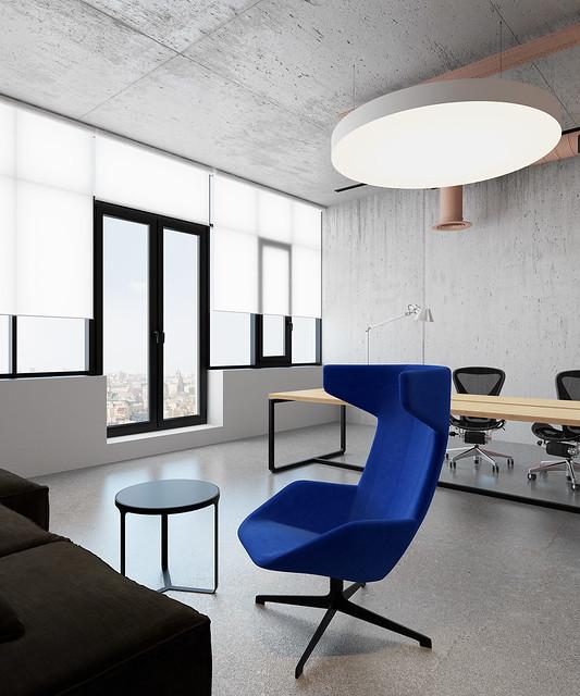 Pink office design in Ukraine by Emil Dervish Sundeno_06