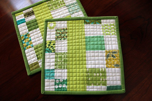 Scrappy Pot Holders Set 1