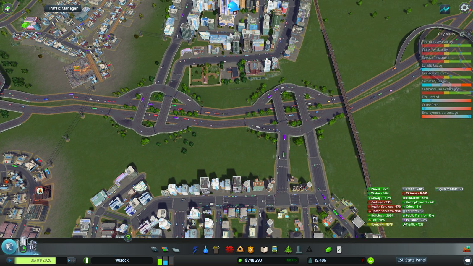 how to make elevated roads and paths cities skylines
