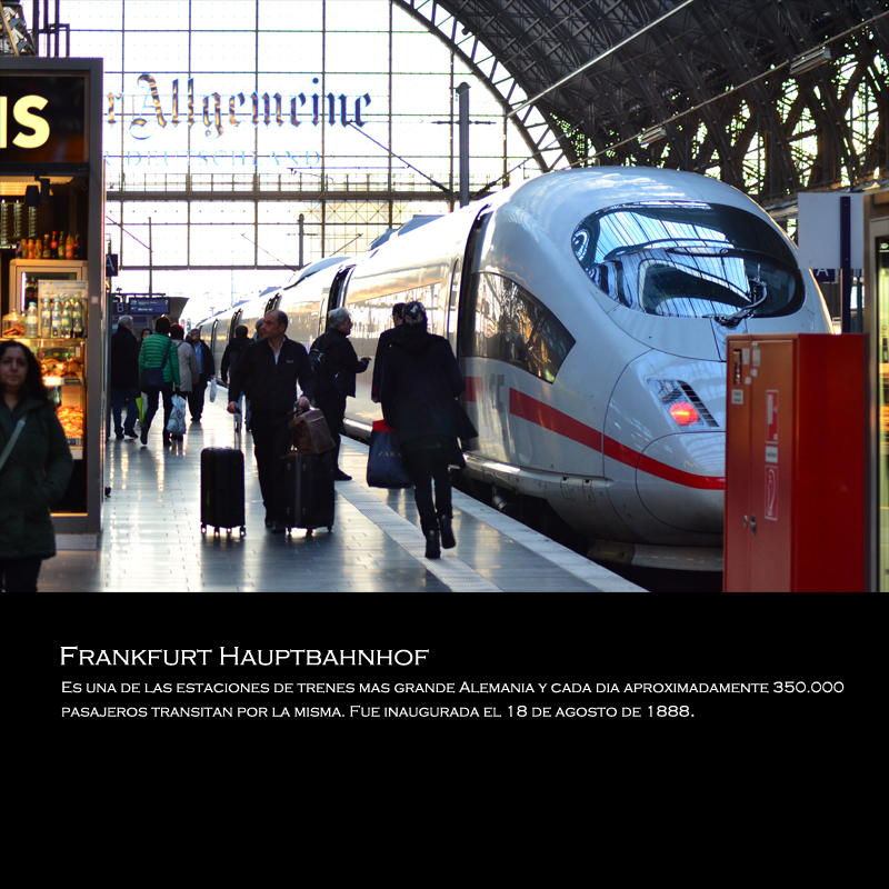 Frankfurt haupbahnhof