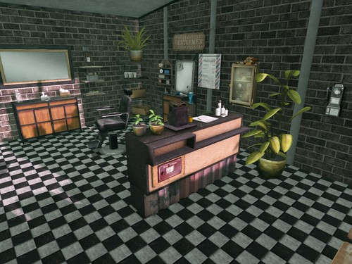 The Oleander Barber Shop