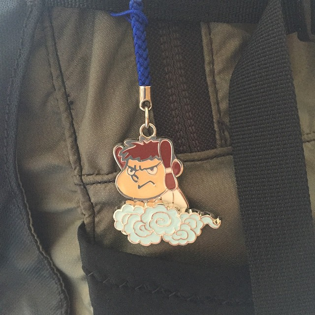 錦織くんとお揃いのキーホルダーが島根から届いた(≧∇≦)