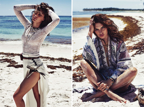 Alyssa Miller Elle Spain May 2015