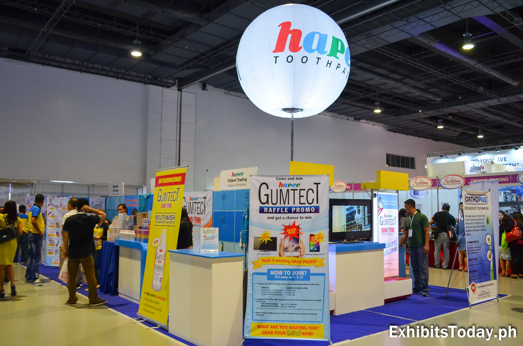 Hapee Exhibit Booth