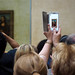 Global Interactions - Seeing the world through the window of your phone - Mona Lisa, Louvre, Paris, France