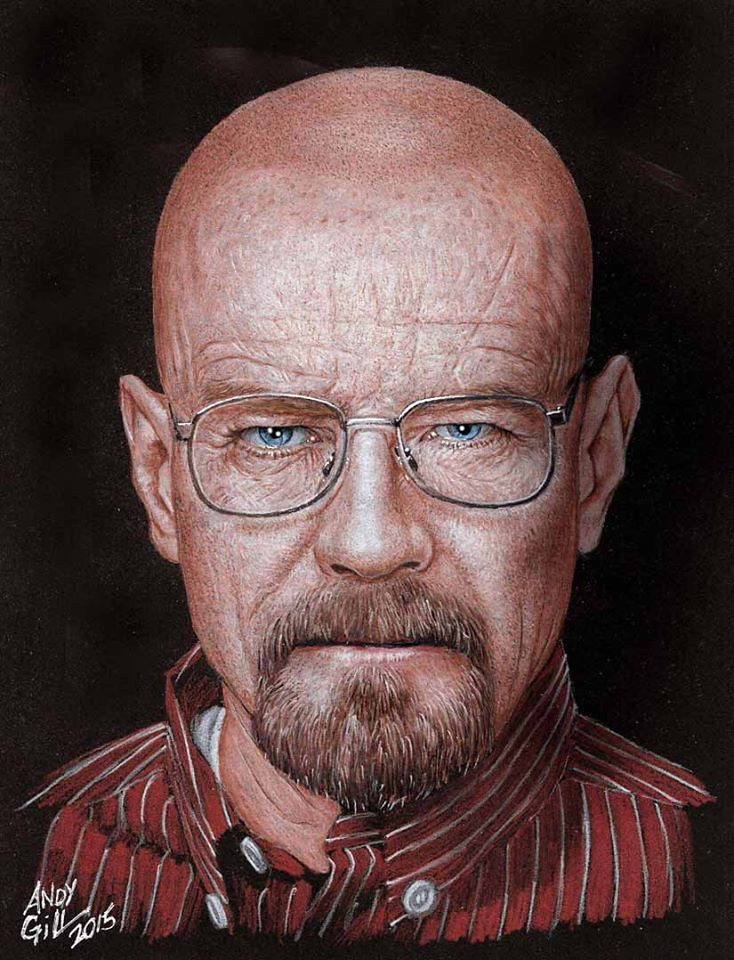 Breaking Bad Walter White by Andy Gill