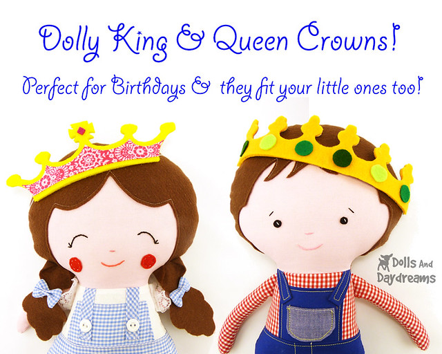 Doll Crowns!