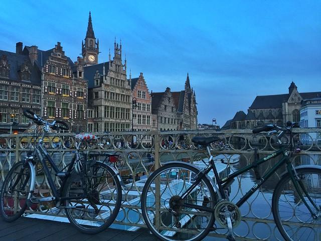 Bicicletas en Gante