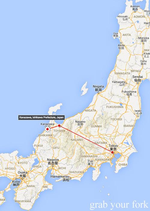 Travelling from Tokyo to Toyama to Kanazawa, Japan
