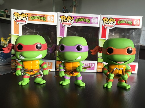 POP! Tortues Ninja - out of boxes