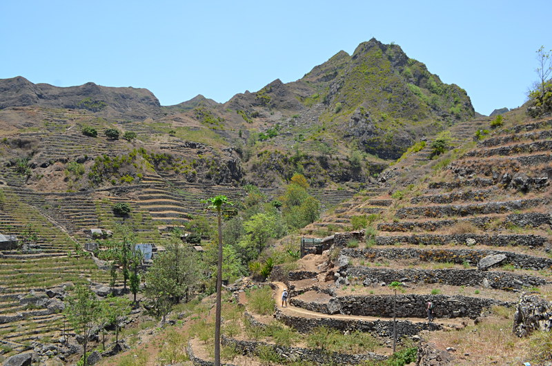 Walking route, Santo Antao, Cape Verde