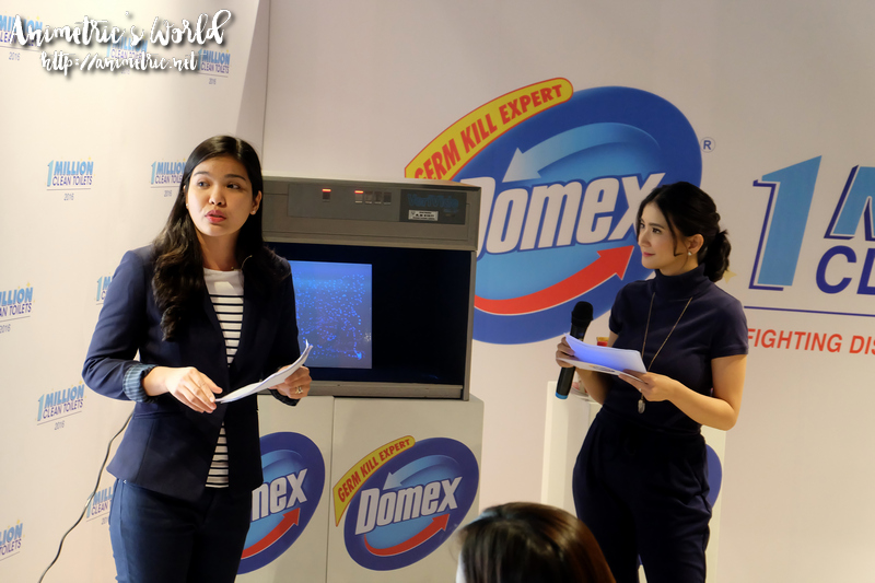 Domex 1M Clean Toilets