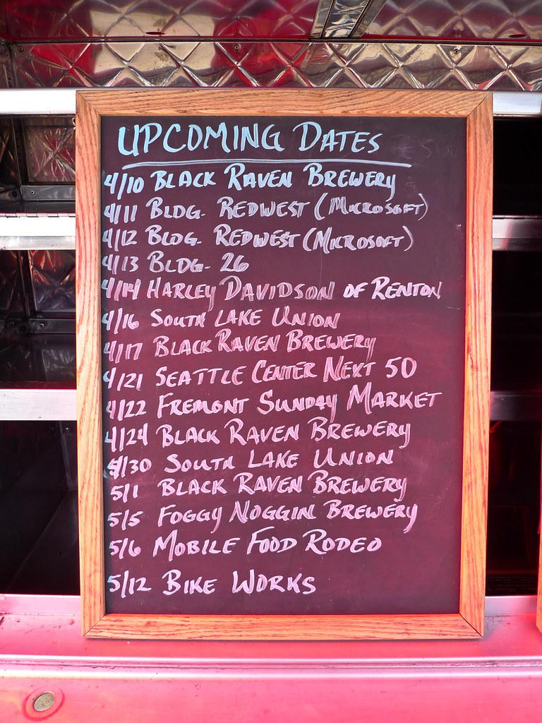 Food Truck Schedule Montreal