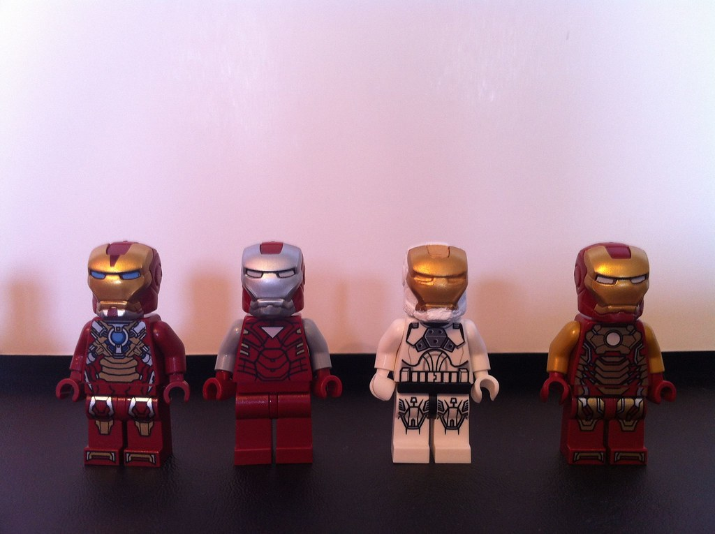 LEGO Iron Man 3 Suits | The 4 suits I have from the new ...