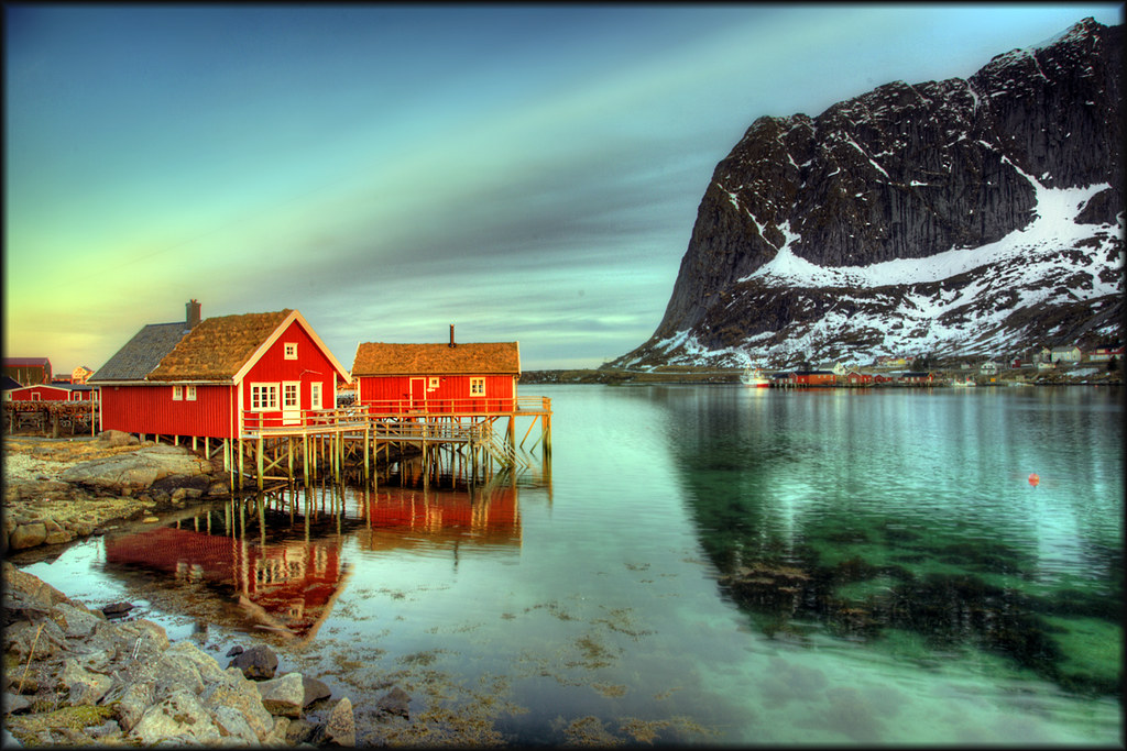 Rorbuer (fisherman house) Reine, Lofoten | Pascal | Flickr
