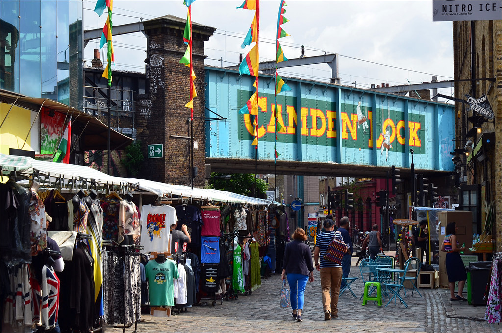 Market  Camden Lock  Chalk Farm Road London Borough Of