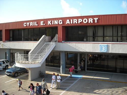 Cyril E King Airport St Thomas Virgin Islands Port