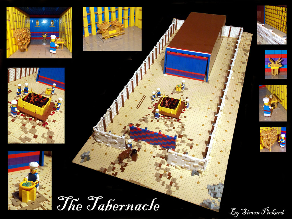 The Tabernacle A Minifigure Scale Model Of The