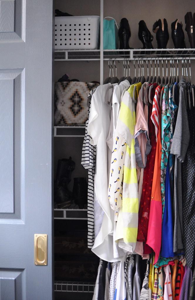 Organized Closet Blogged 4 9 13 Www Gohausgo Com