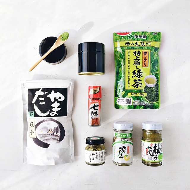 Wishing I was in Japan so instead a much belated display of the goodies that actually came home with us. Chilli and tea (because I ate the Meiji dark chocolate on the plane) - that should tell you all you need to know ????. Also, yuzu chilli paste is so