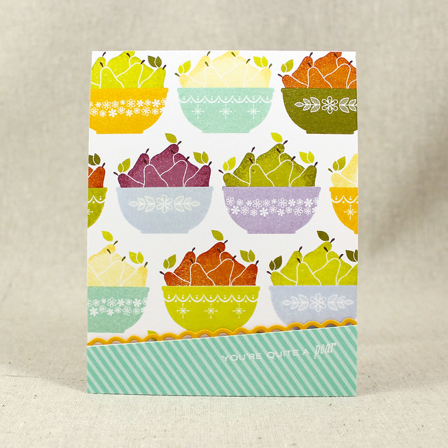 Quite A Pear Card