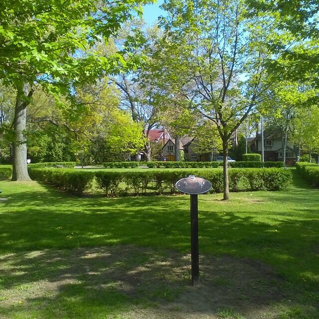 L.M. Montgomery park #toronto #swansea #parks #lmmontgomery #anneofgreengables #princeedwardisland