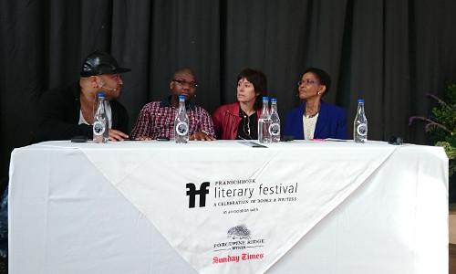Eusebius McKaiser, Thando Mgqolozana, Marianne Thamm and Pumla Gobodo-Madikizela
