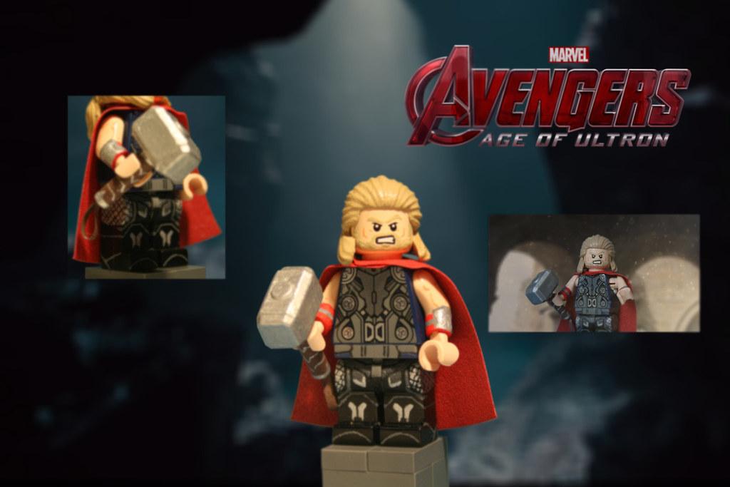 Lego Avengers Age Of Ultron Thor Odinson Afrter A