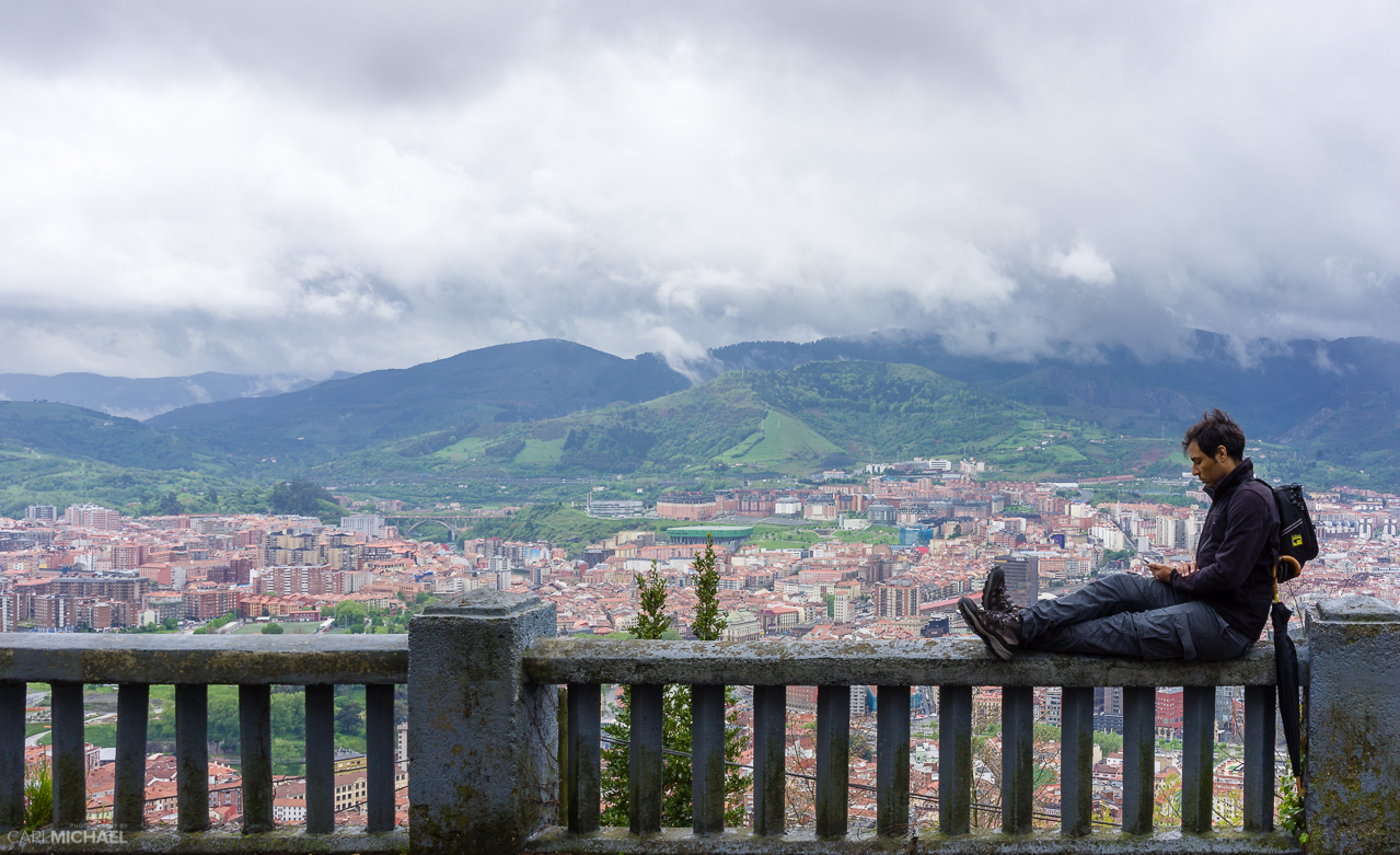 View from Artxanda Bilbao
