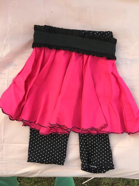 Baby Leggings and Circle Skirt
