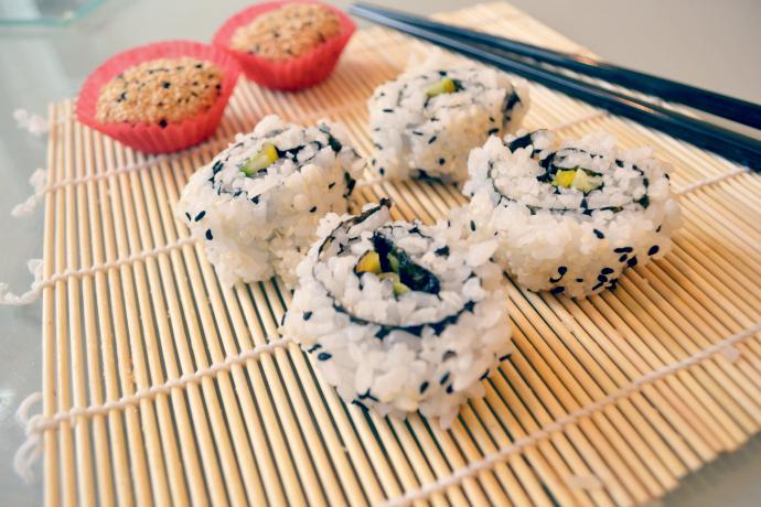 vegan life magazine sushi