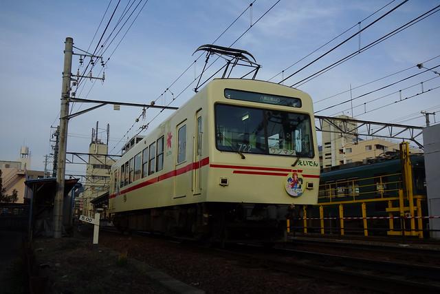 2016/11 叡山電車×きんいろモザイクPretty Days ラッピング車両 #06
