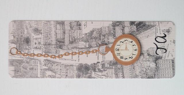 Boekenlegger horlogemaker van londen