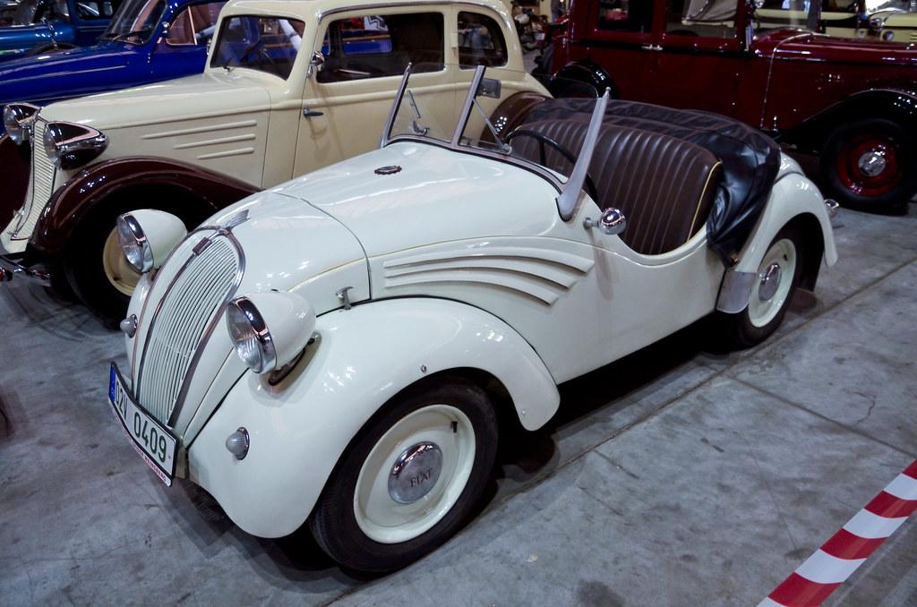 Fiat 500 White >> NSU-Fiat 500 Topolino Spider, Wiensberg bodywork (1940) | Flickr