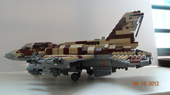 F-16I by Lego.Crazy