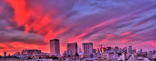 Magic Face in the Clouds at Sunset, HDR Panorama | by Walker Dukes
