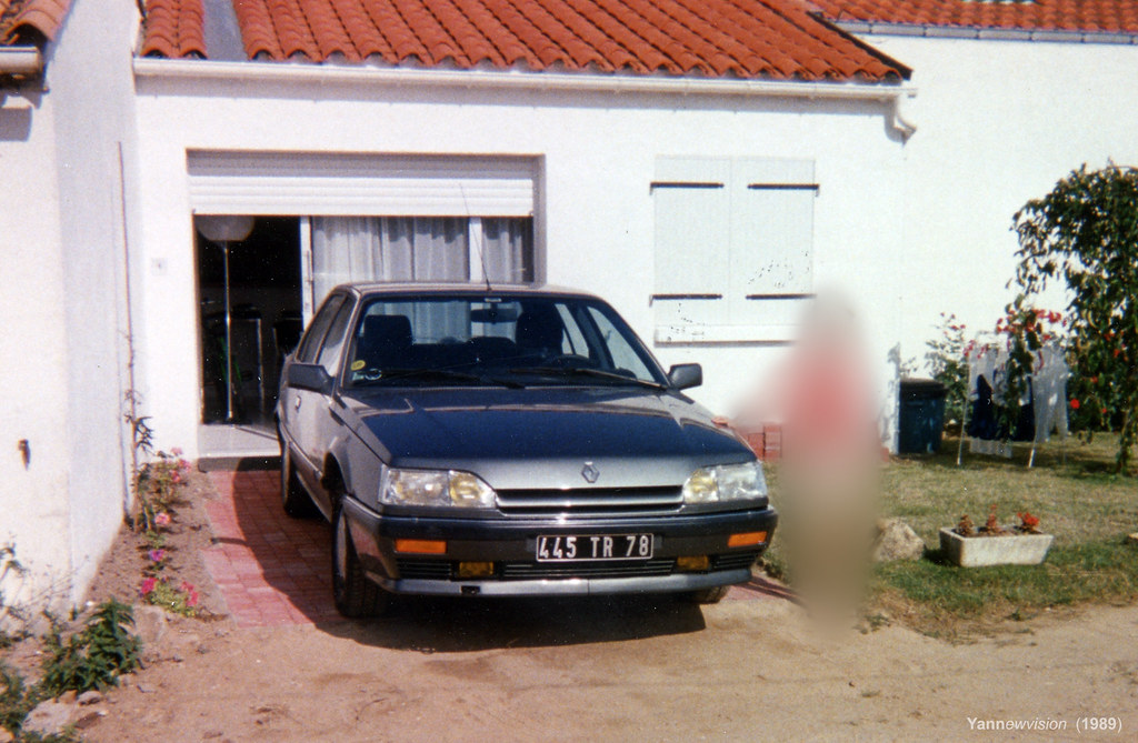 old french car 1988 renault 25 turbo dx phase 2 parent 39 flickr. Black Bedroom Furniture Sets. Home Design Ideas