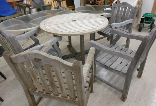 Andrew Teak Outdoor Furniture D083 For Sale At The Restore Flickr Photo Sharing