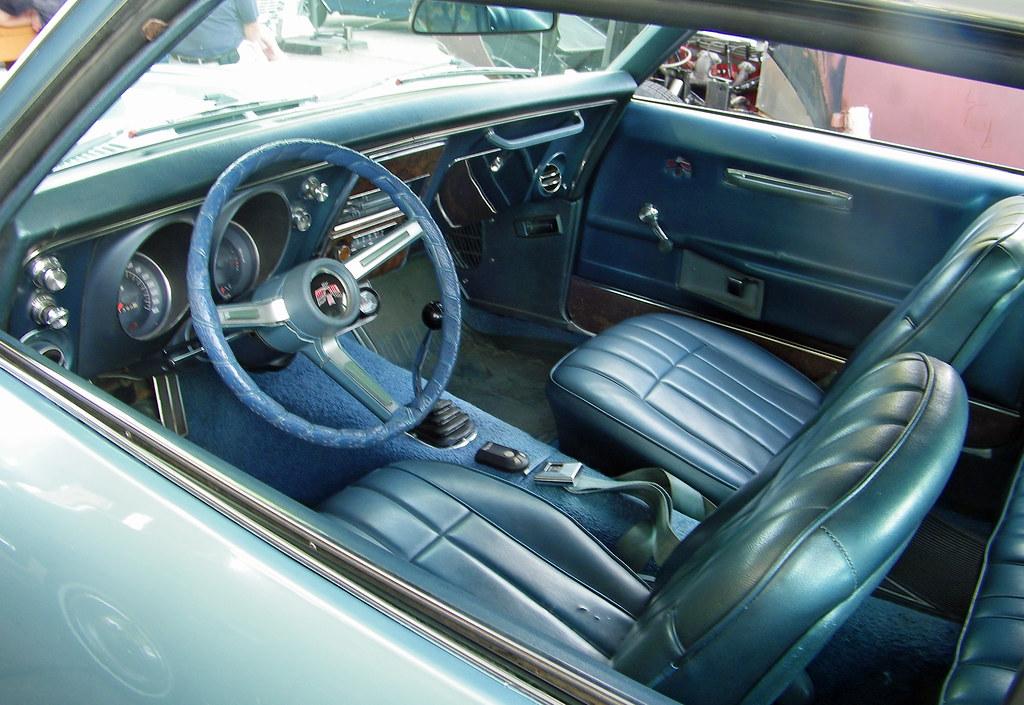 1968 Pontiac Firebird 400 Hardtop Interior Coconv Flickr