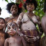 Kids, Karawari River, PNG